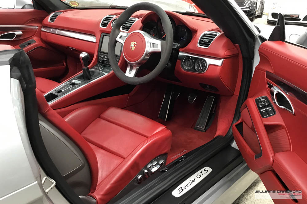 2015 Manual Porsche 981 Boxster GTS For Sale (picture 4 of 6)
