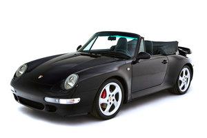 1995 Porsche 993 Turbo Cabrio For Sale by Auction