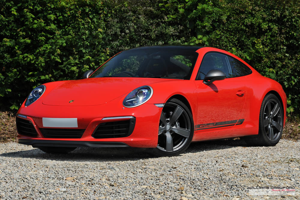 2018 Like new Porsche 991.2 Carrera T manual For Sale (picture 1 of 6)