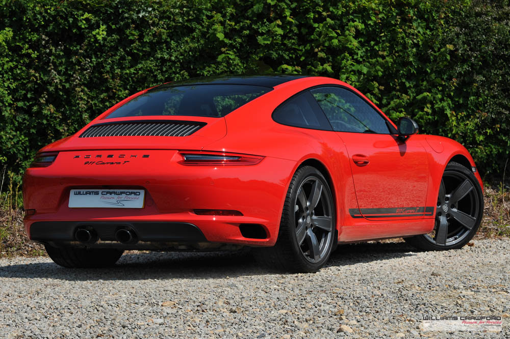 2018 Like new Porsche 991.2 Carrera T manual For Sale (picture 2 of 6)
