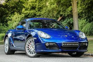 2009 Porsche Cayman S PDK in Aqua Blue Metallic 987 Gen 2 For Sale