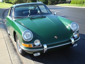 Numbers matching 1966 Porsche 911 with FIA papers!