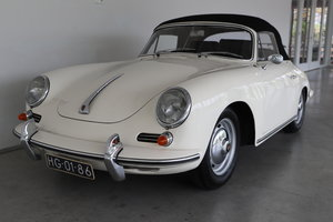 Picture of 1962 (1110) Porsche 356 B T6 1600S Cabriolet For Sale