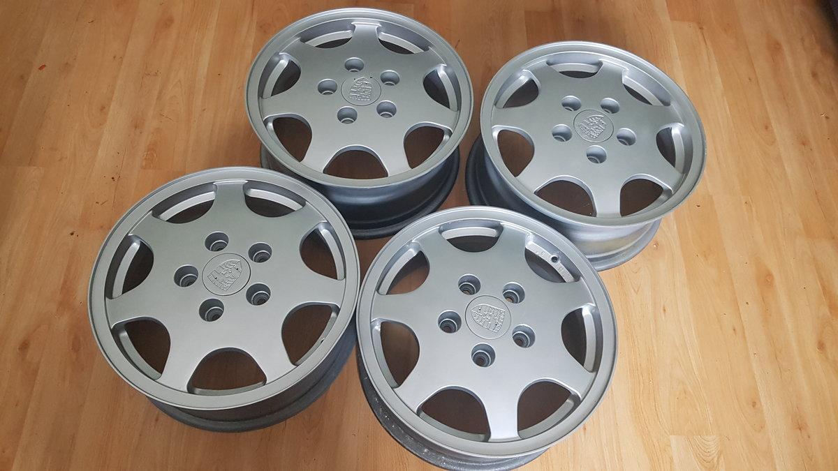 PORSCHE 924 -928 CLOCK/ PORSCHE D90 ALLOYS For Sale (picture 5 of 6)