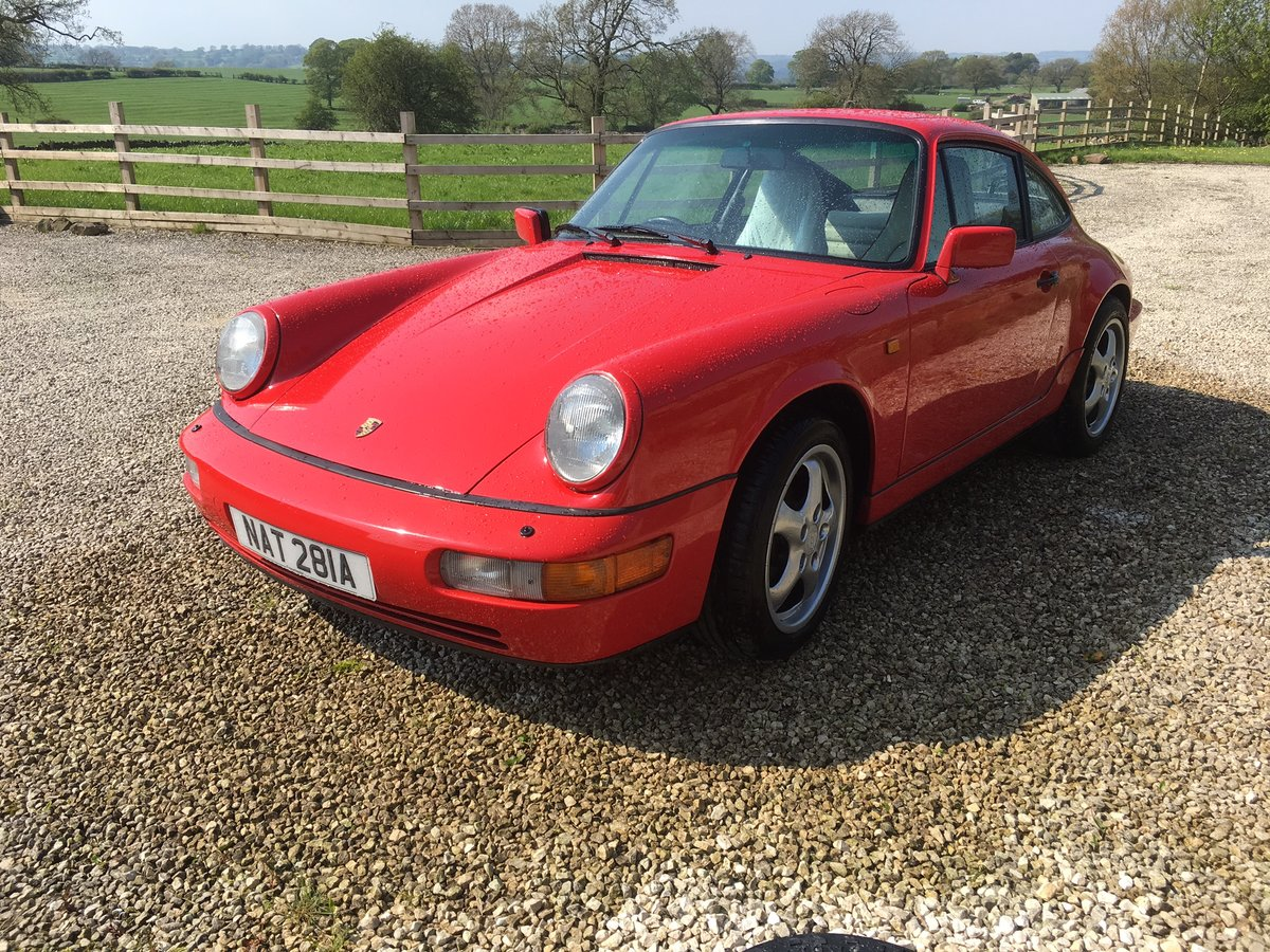 1990 Porsche 964 C2 Manual For Sale (picture 1 of 6)