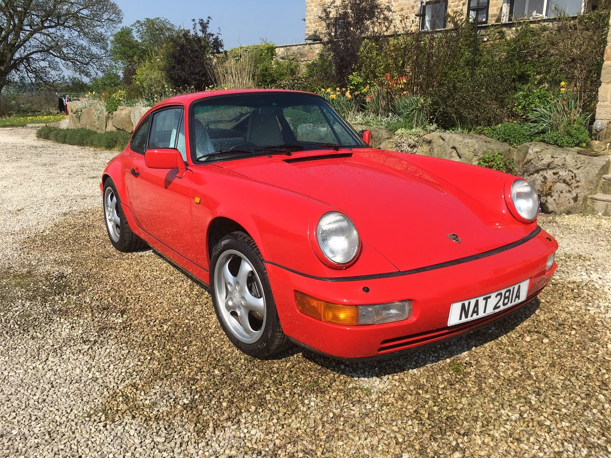 1990 Porsche 964 C2 Manual For Sale (picture 3 of 6)