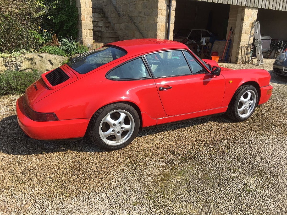 1990 Porsche 964 C2 Manual For Sale (picture 4 of 6)