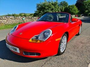 1998 Porsche Boxster 2.5, very low mileage