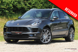 2016 RESERVED - (2017 MY) Porsche Macan S V6 Turbo diesel PDK SOLD