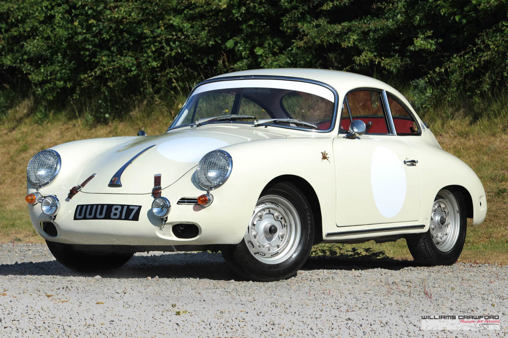 1963 Porsche 356 B T6 1600 coupe by Karmann For Sale (picture 1 of 6)