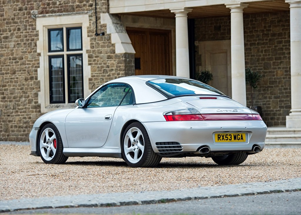 2003 Porsche 911 (996) Carrera 4S Cabriolet Tiptronic SOLD by Auction (picture 1 of 6)