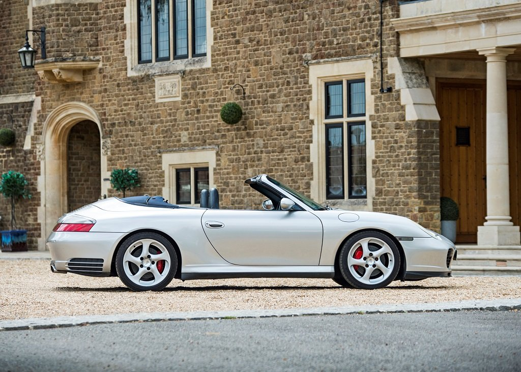 2003 Porsche 911 (996) Carrera 4S Cabriolet Tiptronic SOLD by Auction (picture 2 of 6)