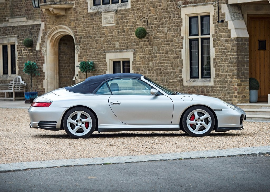 2003 Porsche 911 (996) Carrera 4S Cabriolet Tiptronic SOLD by Auction (picture 3 of 6)