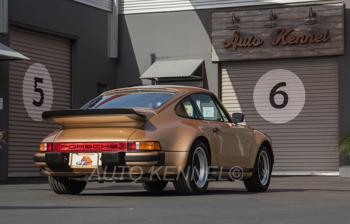 1977 Porsche 911 Turbo 930 PTS #'s Match Low Miles For Sale (picture 1 of 6)