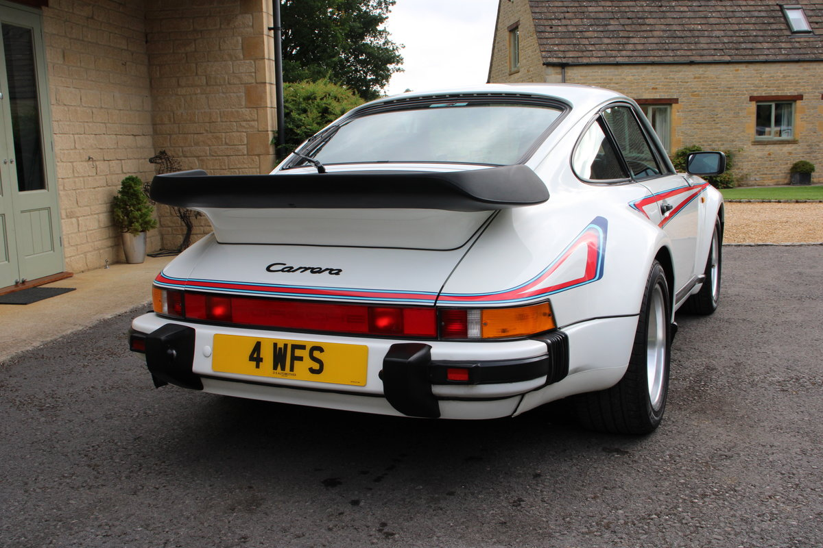 1987 PORSCHE 911 SUPERSPORT  For Sale (picture 2 of 23)