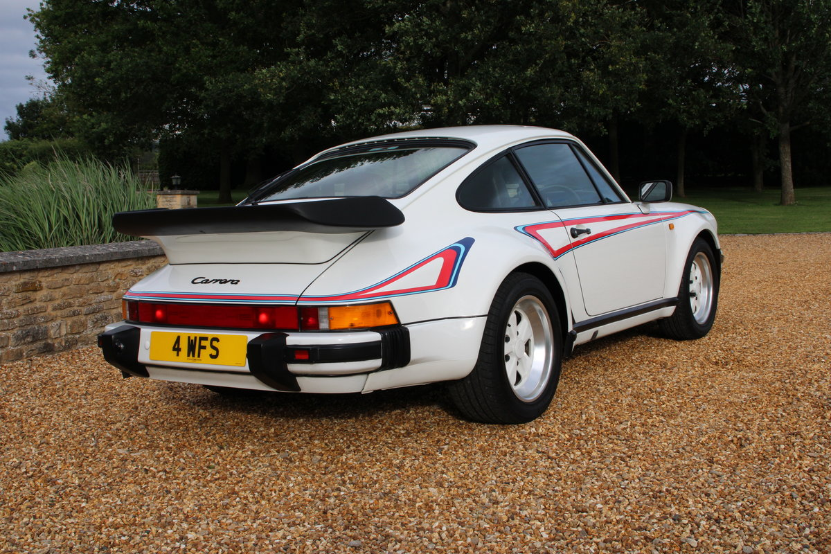 1987 PORSCHE 911 SUPERSPORT  For Sale (picture 3 of 23)