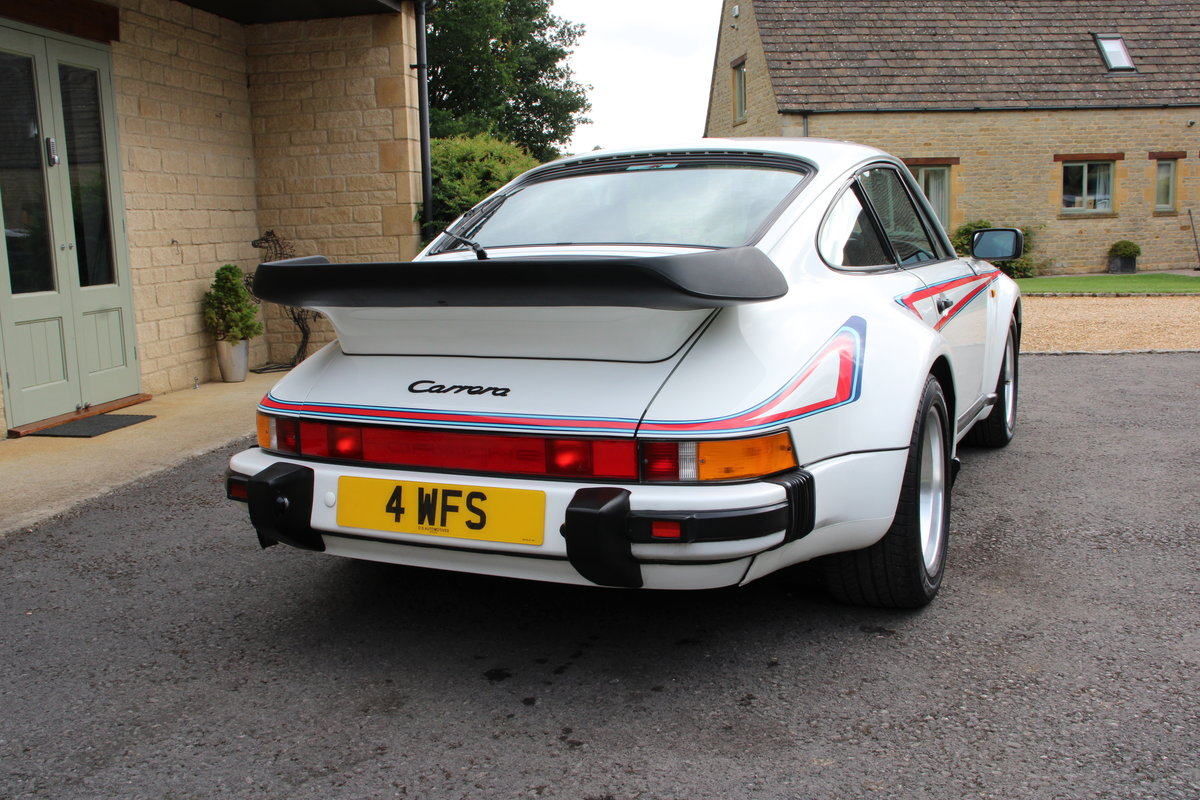 1987 PORSCHE 911 SUPERSPORT  For Sale (picture 4 of 23)