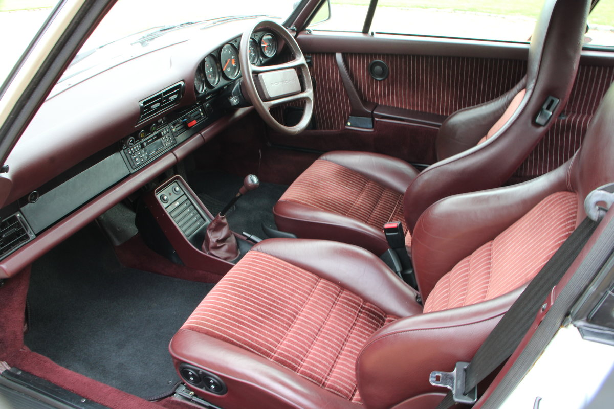 1987 PORSCHE 911 SUPERSPORT  For Sale (picture 13 of 23)