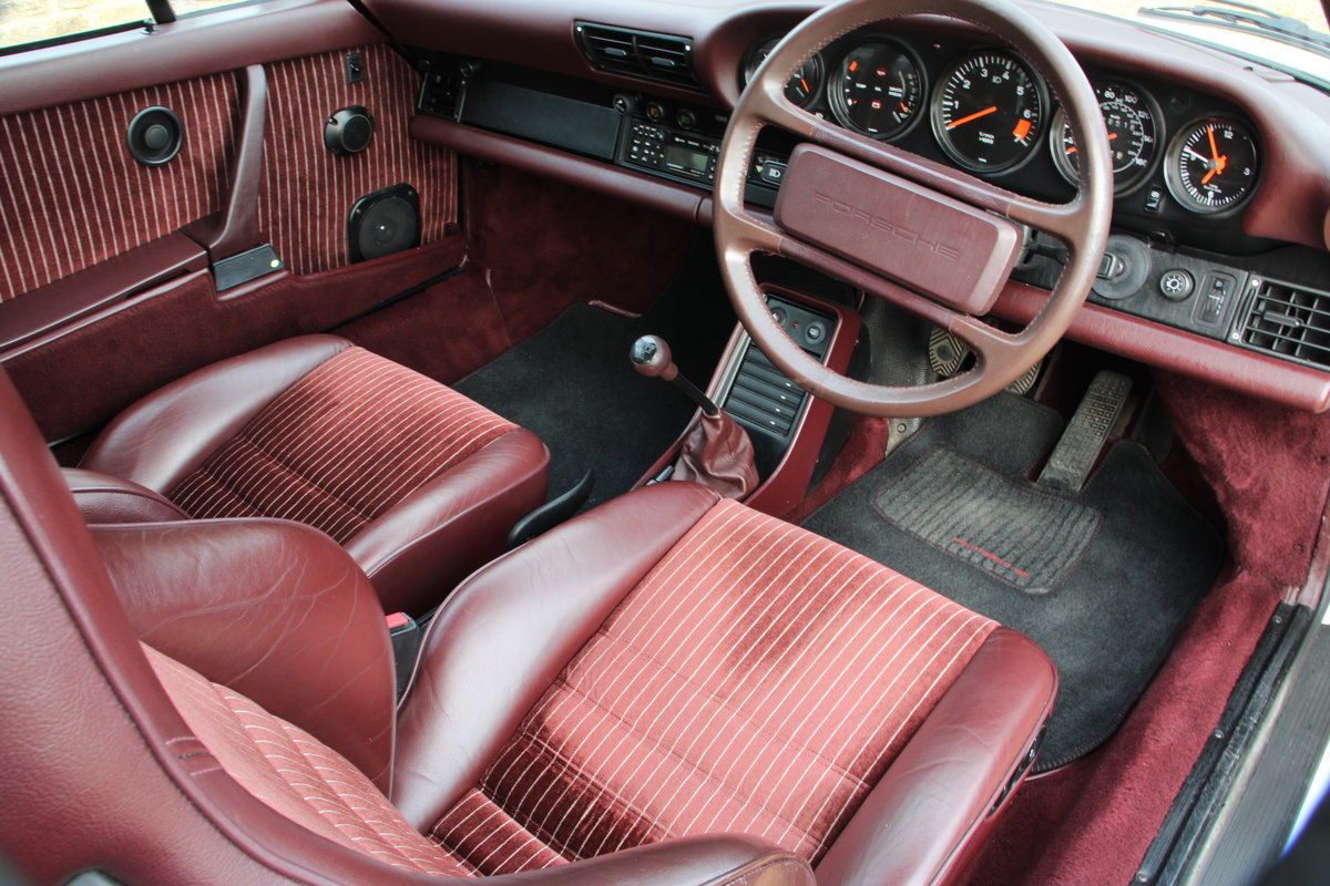 1987 PORSCHE 911 SUPERSPORT  For Sale (picture 17 of 23)