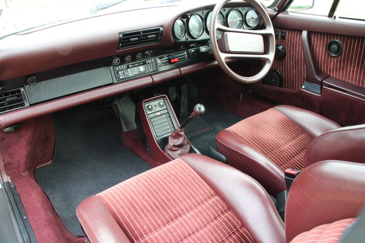 1987 PORSCHE 911 SUPERSPORT  For Sale (picture 23 of 23)