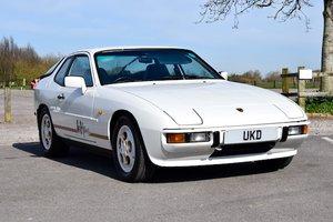 1988 PORSCHE 924S LE MANS EDITION ALPINE WHITE  2.5
