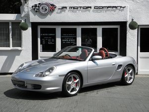 Picture of 2004 Porsche Boxster 3.2 S Manual Polar Silver Huge Rare Spec! SOLD