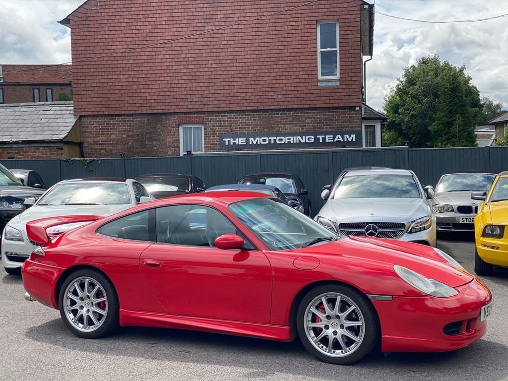 1999 PORSCHE 911 996 3.4 CARRERA 4 GT3 SPEC + HIGHLY MAINTAINED SOLD (picture 1 of 6)