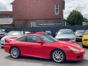 PORSCHE 911 996 3.4 CARRERA 4 GT3 SPEC + HIGHLY MAINTAINED