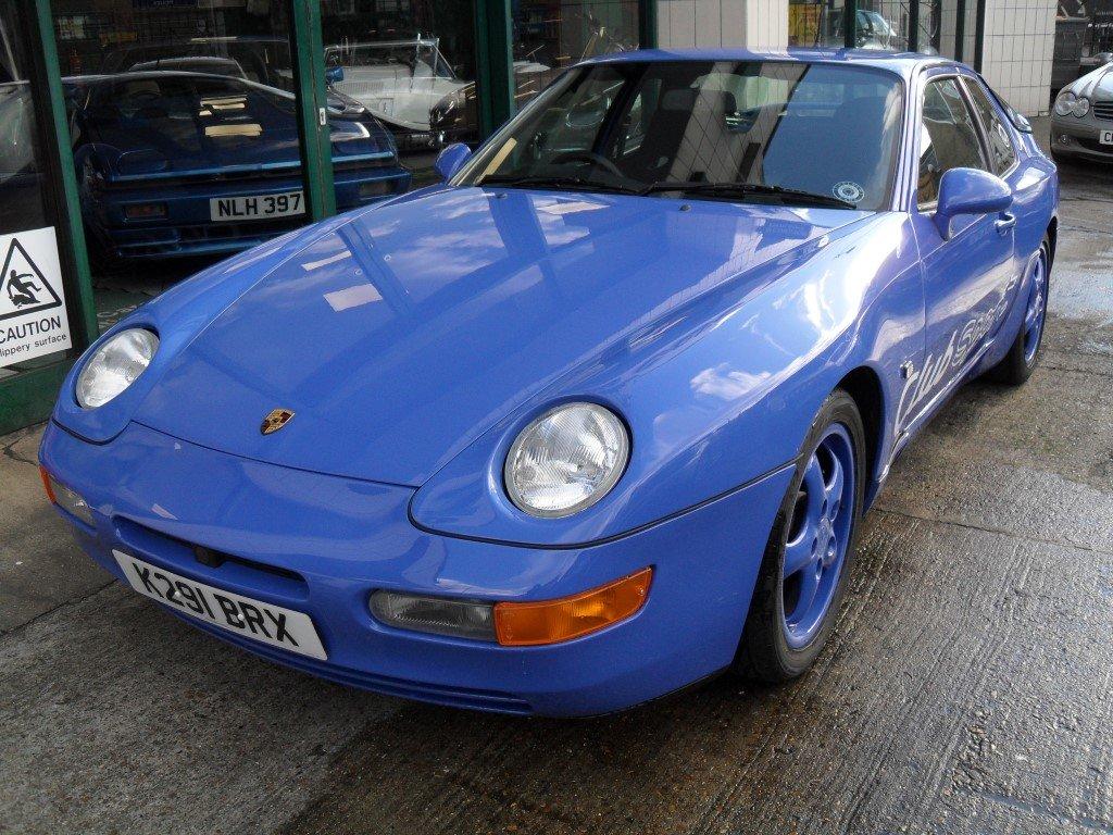1992 Porsche 968 Club Sport For Sale (picture 1 of 5)