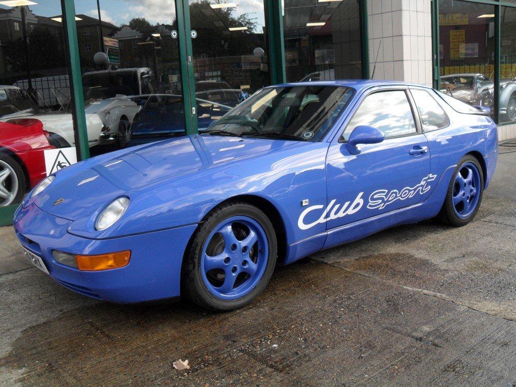 1992 Porsche 968 Club Sport For Sale (picture 2 of 5)