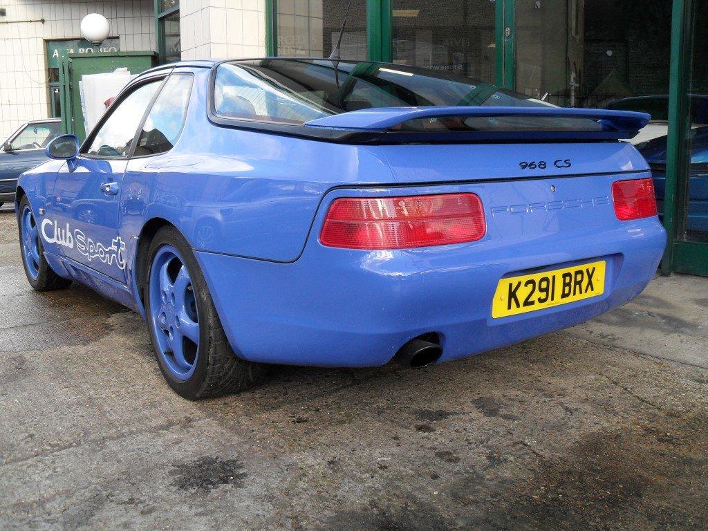 1992 Porsche 968 Club Sport For Sale (picture 3 of 5)