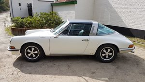 1972 Porsche 911targa Ölklappe