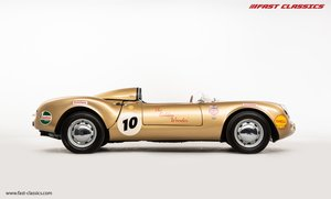 PORSCHE 550 SPYDER RECREATION // THE GOLDEN WONDER // BANHAM