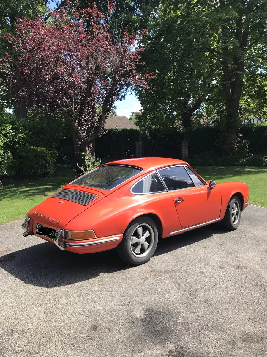1969 Porsche 912 - Matching Numbers - 5 Dial For Sale (picture 3 of 6)