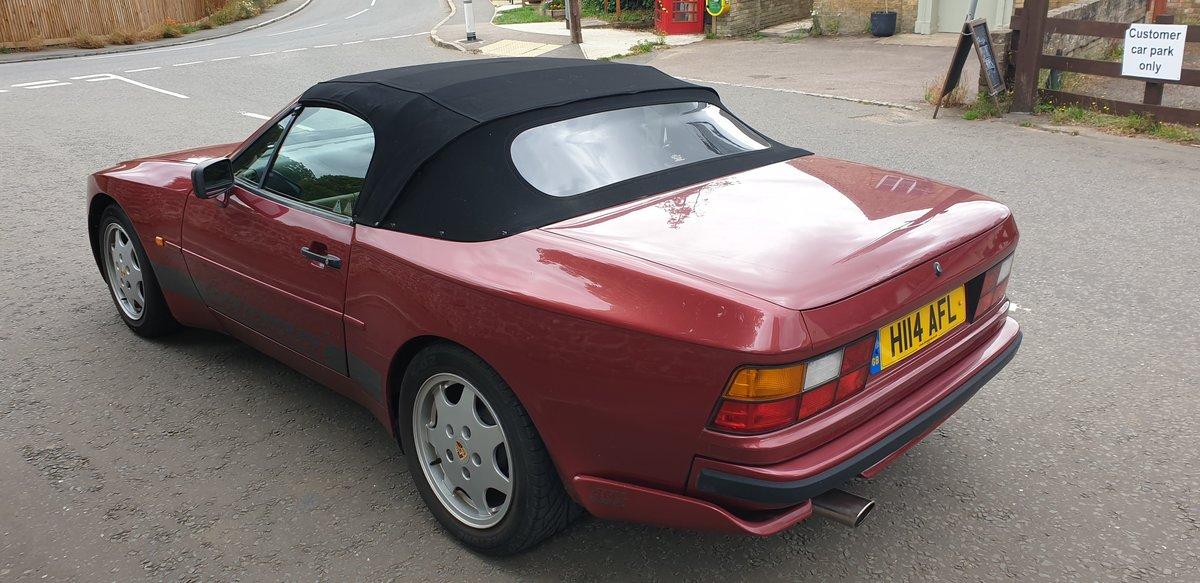 1991 Porsche 944 3.0 S2 16v Cabriolet For Sale (picture 2 of 6)