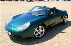 2001 Porsche Boxster For Sale by Auction