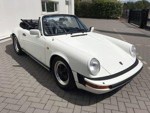 1983 porsche 911 SC Cabrio For Sale