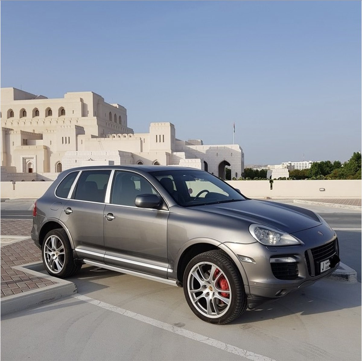 2008 Cayenne Turbo. Full service history. For Sale (picture 1 of 6)