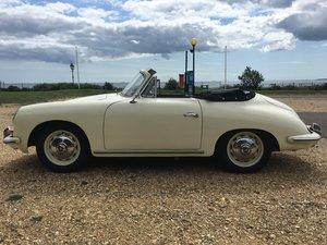 1961 PORSCHE 356 B CABRIOLET RHD