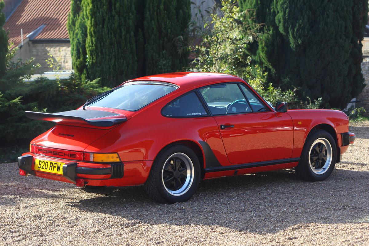1985 Porsche 911 3.2 Classic Carrera - Full Restore! For Sale (picture 2 of 6)