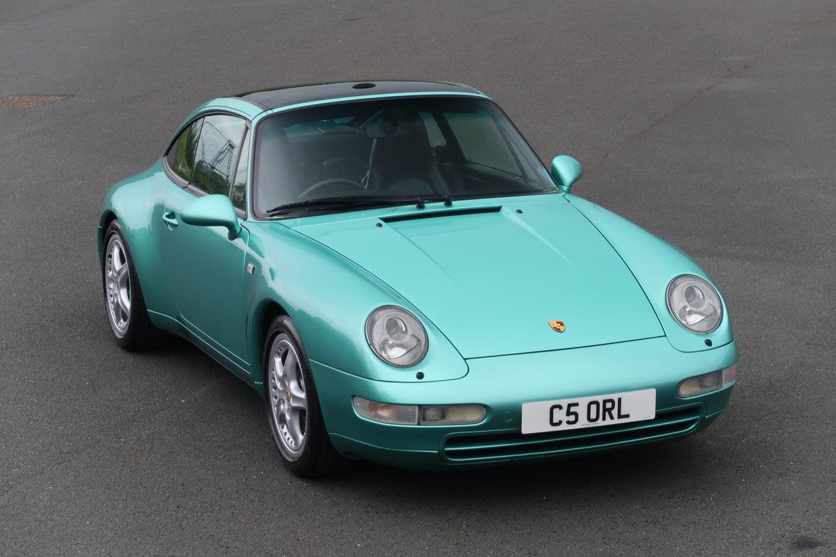 1997 PORSCHE 911 TARGA 993 6-SPEED For Sale (picture 1 of 6)