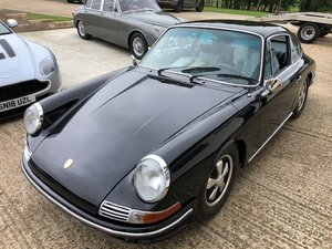 early SWB Porsche 912 - 1.6L Manual Black