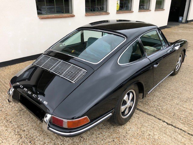 1965 early SWB Porsche 912 - 1.6L Manual Black For Sale (picture 3 of 6)