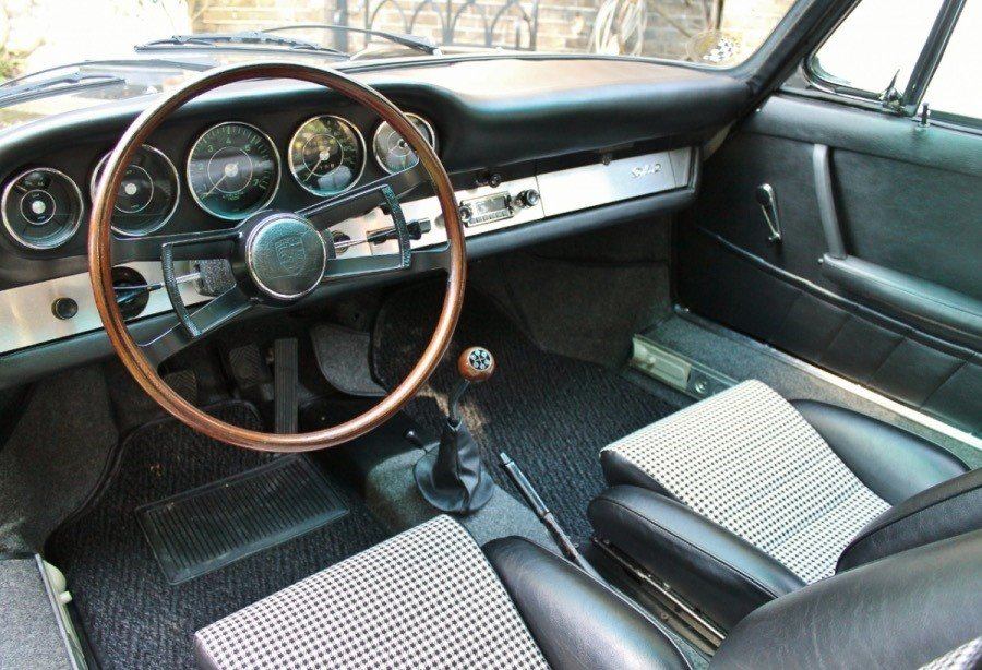 1965 early SWB Porsche 912 - 1.6L Manual Black For Sale (picture 4 of 6)
