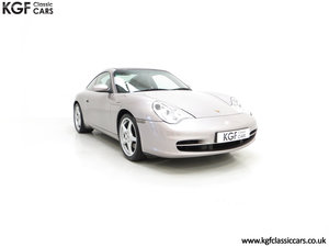 2002 A Brilliant Porsche 996 911 Targa with 48,262 Miles