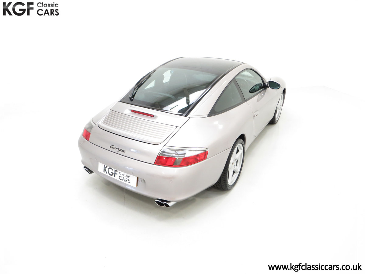2002 A Brilliant Porsche 996 911 Targa with 48,262 Miles SOLD (picture 12 of 24)