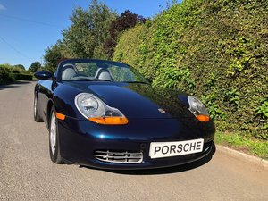 1997 Porsche Boxster 2.5 only 30,216 miles 2 owners superb