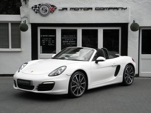 2015 Porsche Boxster 2.7 PDK Carrera White Huge rare Spec! For Sale