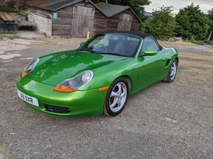 1999 Porsche Boxster 986 in unique Factory Java Green For Sale
