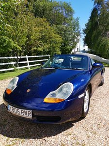 Porsche Boxster 2.7L - Lapis Blue - Beautiful